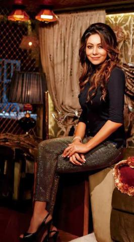 Gauri Khan Hello Magazine March 2014 Photoshoot