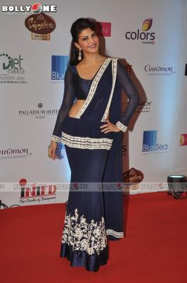 Jacqueline Fernandez Sexy Stills at Femina Miss India 2014 Pageant