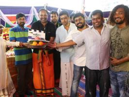 On the occassion of Tamil New Years day, Venkat Prabhu and team have arranged for the formal muhurtham pooja of their next film with Suriya.