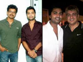 The multi-talented go lucky guy Simbu is recently questioned by the media, to answer whether he is a fan of Thala Ajith or Ilayathalapathy Vijay.