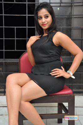 Swathi Deekshat Latest Photos in Black Dress
