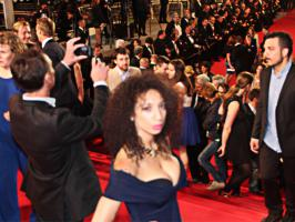 Playboy Girl Shanti Dynamite Indian Savita Barbie dazzles the Cannes Red Carpet