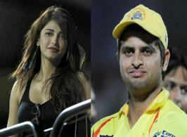This comes as shocker to Shruti fans that she is in relationship from past a year with Suresh Raina, one of the leading crickters in Chennai Super Kings IPL team.