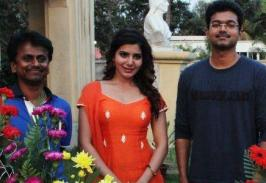 Ilayathalapathy Vijay and Samantha starring Kaththi is taking fast shape in the hands of director AR Murgadoss. Now, the lead actress has finished her portions for the film. Apparently, Samantha tweeted: �Last day of the schedule for #Kaththi . Back to Hyderabad for some # Rabhasa�. Most of the fi