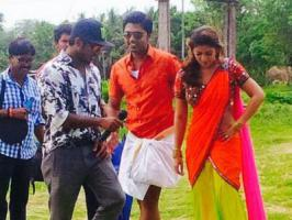 STR aka Simbu and Nayantara starring Idhu Namma Aalu is taking fast shape in the hands of director Pandiraj. Latest we hear is the film is almost done with its talkies and left with a couple of songs.