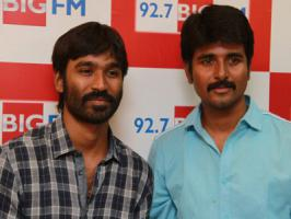 Siva Karthikeyan, DhanushRecently, there was a buzz in Kollywood tinsel town that Siva Karthikeyan and Dhanush have parted their ways and nothing going good between them. Now, RJ turned actor Siva karthikeyan has denied the reports saying, �I'm regularly in touch with Dhanush. I always remember tha