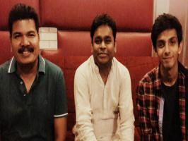 Young and happening music director Anirudh Ravichander has recently crooned one of the songs composed by AR Rahman for Vikram's Ai. Excited Anirudh Tweeted: �Had great fun singing a song for 'Ai'.. Thanks to @shankarshanmugh sir and @arrahman sir :) Love, Anirudh.� Vikram and Amy Jackson starred A