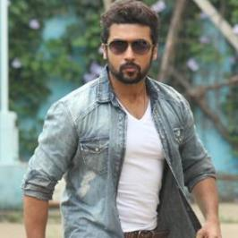 Tamil actor Suriya, who is awaiting the release of Tamil actioner