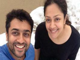 Actor Suriya who is also a doting husband of actress Jyothika has taken some time off his busy schedule and confirmed Jyo's comeback to Tamil films.