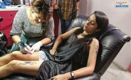 Trisha Krishnan Shows Tatoos On Her Body 2014, Trisha Krishnan Shows Tatoos On Her Thais, Trisha Krishnan Shows Tatoos On Her Hands, Trisha Krishnan S Tatoos , Trisha Krishnan,  Trisha Krishnan Shows Tatoos, Trisha Krishnan Shows Tatoos On Her Body