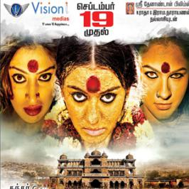 Sundar C's upcoming horror thriller Aranmanai is all set to hit the mega screens on 19th of this month. Makers have apparently unveiled Hansika's Aranmanai release date posters recently.