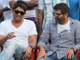 Allu Arjun-Trivikram film has hit the floors at a Mall in Hyderabad yesterday. Director has filmed comedy scenes between Bunny, Vennela Kishore, Surekha Vani and others on the first day of shoot. While everyone are eagerly waiting for the cast and crew details of the untitled Allu Arjun starrer fro
