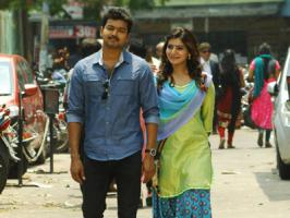 Vijay's Kaththi with Samantha in AR Murugadoss direction has been one of the awaited films gearing up for this Diwali. Vikram's I also joins Diwali race with Kaththi, apparently sold theatrical rights. Ilayathalapathy enjoys good fan base in Kerala. With a huge and healthy competition between Katht