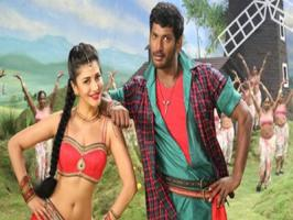Vishal's Poojai is getting ready to grace the theaters this Diwali. Hari has directed this commercial entertainer that will be telecasted in television by Sun TV. 'SUN TV' has snapped the Poojai satellite rights for a whooping amount. Produced by Vishal Film Factory, Poojai is set to be released in