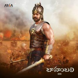 Young Rebelstar Prabhas's firstlook as Baahubali from SS Rajamouli's magnum opus Baahubali Telugu movie has been disclosed today [Oct 18].