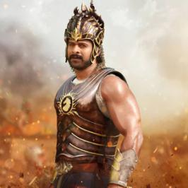 Stylish Star Allu Arjun has commented on the recently released Prabhas's first look from his upcoming film Baahubali directed by SS Rajamouli.