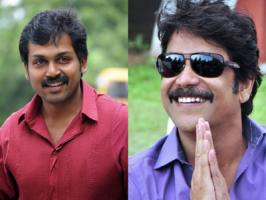 Well, it is known that Tamil actor Karthi will be joining Telugu actor Nagarjuna for a bi-lingual film. Latest we hear is the yet-untitled film will have a single heroine.