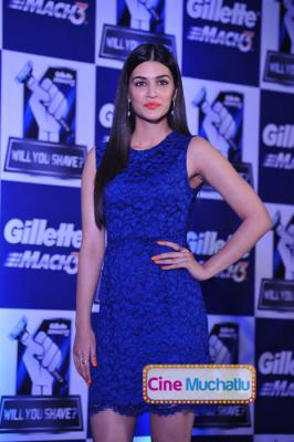 Kriti Sanon Latest Photos at Gillette Campaign