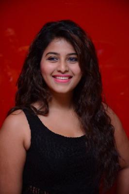 Anjali Cute in Black Dress, Anjali in Black Dress Images, Actress Anjali Latest Cute Pics, Anjali New Photo Shoot Stills, Anjali Calendar Photo Shoot 2015 Photos