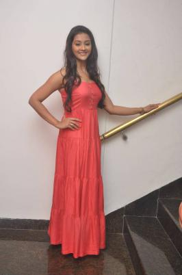 Pooja Jhaveri Latest PhotoShoot Stills In Pink Dress