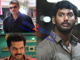 Front line Tamil actors Thala Ajith, Vishal and Karthi are gearing up for a grand Pongal release in the year 2015.