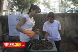 Trisha Clean India Images, Actress Trisha Clean India Photos, Trisha Krishnan Cleans City Swachh Bharat Abhiyan Pics, Trisha Clean India Stills Gallery