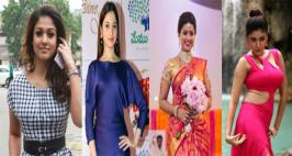 Top Actress Colorful New Look Photos, Sneha in Traditional Saree Ramp Walk Pics, Trisha, Anushka, Karthika, Oviya Helen, Nayanthara, Samantha, Tamanna Bhatia