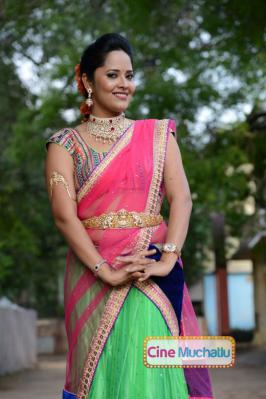 Anasuya's Debut Movie Title Confirmed