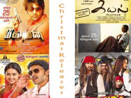 Kollywood has got a new festive season for releasing new films, which is nothing but Christmas. Earlier, December 25th was considered very close to Pongal and no big movies were slated for release.