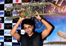 "Actor singer Ayushmann Khurrana, who will soon be seen in ""Hawaaizaada"", says making the movie was as tough as it must have been for the film's inspiration, ..."