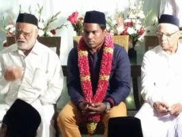 South Indian composer Yuvan Shankar Raja has entered wed-lock with Zafrun on New Year day, January 1st. The wedding ceremony was a private affair with only girl's family members at the venue Kilakrarai ,Ramnad District.