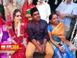2015 Yuvan Shankar Raja Wedding Photos, Yuvan Sankar Raja Marriage Stills, Music Director Yuvan Shankar Raja Wedding at Nagappattinam, Singer Bhavatharani