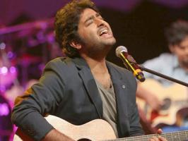 Bollywood playback singer Arijit Singh has crooned his first Tamil number in upcoming film