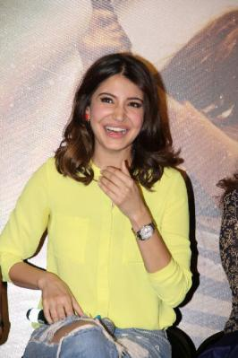 Nh10 Movie Trailer Launch Photos, Anushka Sharma in NH10 Film Trailer Release Function Event Images, Bollywood Film Nh10 Trailer Launch Pics Gallery