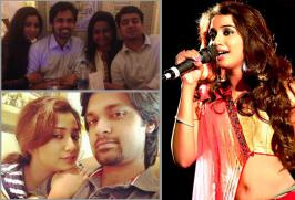 Shreya Ghoshal with her boyfriend Shiladitya engagement Photos, Singer Shreya Ghoshal with her husband Shiladitya Stills, Shreya Ghoshal Unseen Images