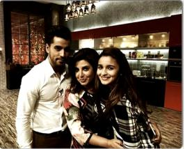 Alia Bhatt celebrated Valentines Day with Gautam Gulati