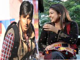 Handsome Jeeva hasn't signed any of the films post his Ravi K Chandran directed Yaan with Thulasi Nair bombed at the box office. Latest we hear that the Rowthiram star will be romancing Nayantara in his upcoming Tamil movie. Jeeva has signed his new movie with director Ramnath titled 'Ambasamuthira