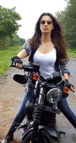Raai Laxmi Recent Bike Rides Photos, Lakshmi Rai Latest Super Bike Rides Pics