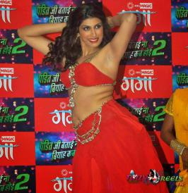 Shinjini Kulkarni Spicy Stills at Bata Na Biyah Kab Hoyi Music Launch
