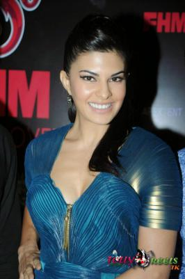 Jacqueline latest Stills at Sol FHM Cover Girl Bash Event