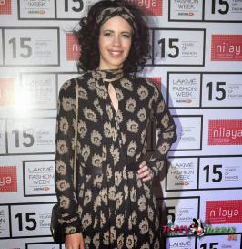 Kalki Koechlin Stills at Lakme Fashion Week