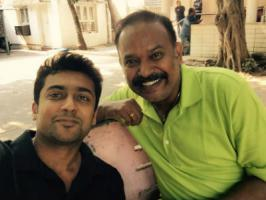 Suriya has started dubbing for his portions in Masss last Sunday [March 22] and completed most of the parts. Apparently, Su