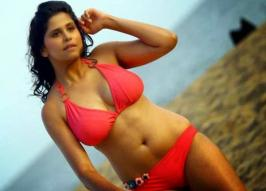 Hindi Movie Hunterrr Aunty Sai Tamhankar Bikini Photos