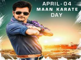 Anchor turned actor Siva Karthikeyan is celebrating the first anniversary of his 2014 superhit Tamil film 'Maan Karate' this Saturday [April 4].