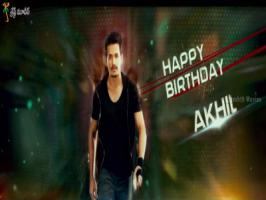 Wishing a very Happy Birthday to the Akkineni Prince Akhil's debut heroic venture untitled Production A first look teaser has been unveiled this Wednesday [April 8].