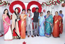 Balakumaran Son Wedding Reception Photos, Kollywood Celebs at Balakumaran Son Marriage Reception Pics, Balakumaran Son Wedding Reception Images