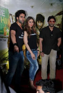 Welcome 2 Karachi Movie Trailer Launch, Welcome 2 Karachi Film Trailer Launch Pics, Bollywood Film Welcome 2 Karachi Trailer Release Fucntion Event Images