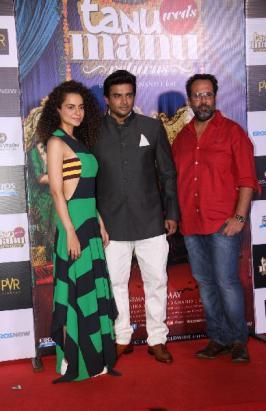 Tanu Weds Manu Returns Trailer Launch, Kangana Ranaut and R. Madhavan at Tanu Weds Manu Returns Trailer Launch Function Images, Tanu Weds Manu 2 Trailer