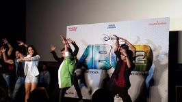 Prabhu Deva, Varun Dhawan, Shraddha Kapoor Anybody Can Dance 2 Movie Trailer Launch Event Stills, ABCD 2 Movie Trailer Launch Photos, Hindi Film Abcd2 Trailer Release Function Pics
