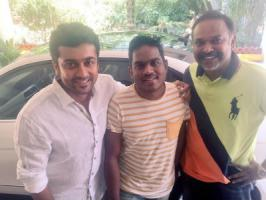 Suriya's Masss shooting is completely wrapped and the film's unit is currently busy with post-production work. Latest we hear that Yuvan Shankar Raja has submitted the Masss audio master copy to makers.